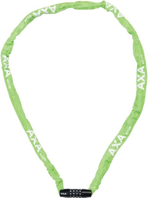Axa Rigid Code Cykellås 120cm grön
